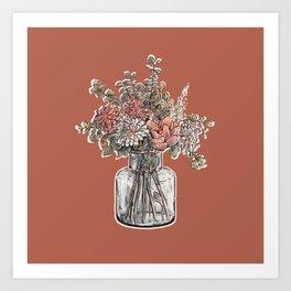Flower Bouqet Art Print
