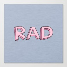 RAD Canvas Print