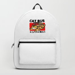 Cat Bus Backpack