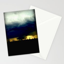 Wall Cloud  Stationery Cards