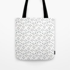 Flowers Pattern I Tote Bag