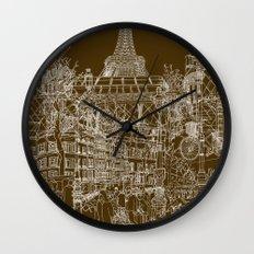 Paris! Wall Clock