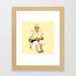 Strong Asian Mothers Framed Art Print