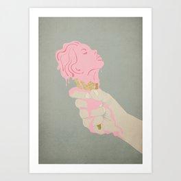 Bye bye love Art Print