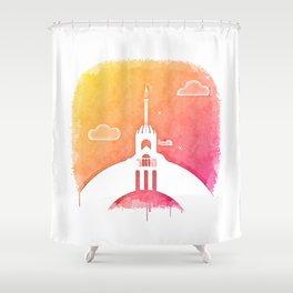Mecca Dream Shower Curtain
