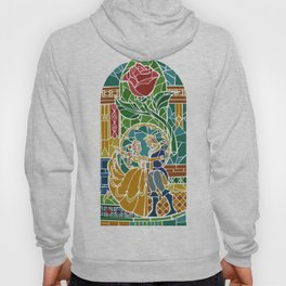 Beauty and The Beast - Stained Glass Hoody