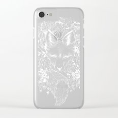 hidden fox Clear iPhone Case