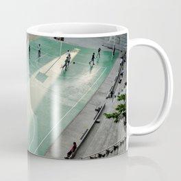field and basketball players Coffee Mug