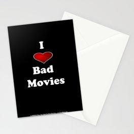 I (Love/Heart) Bad Movies print by Tex Watt Stationery Cards