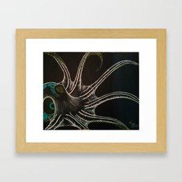 Sketchy Ocotopus Framed Art Print