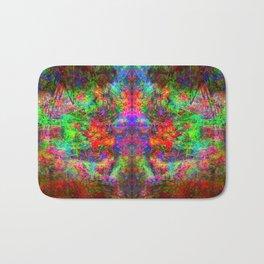 Kamana II (abstract, psychedelic, visionary) Bath Mat