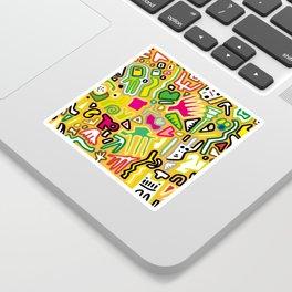 color doodle Sticker