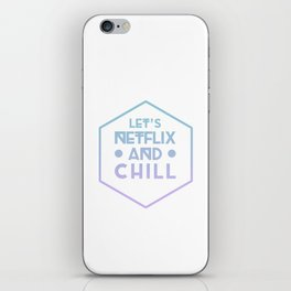 Netflix & Chill iPhone Skin