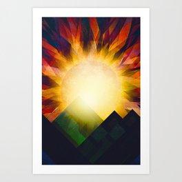 All i need is sunshine Art Print