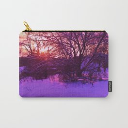 KINGSPORT, TN - WINTER SUNSET Carry-All Pouch