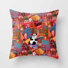 PPPPP's Throw Pillow