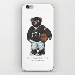 ftp bear iPhone Skin