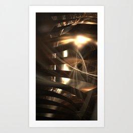 Rays of Zion Art Print