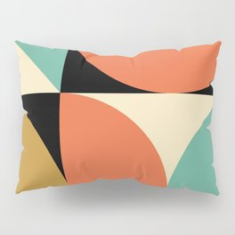 Mid Century Modern Geometric Abstract 235 Pillow Sham