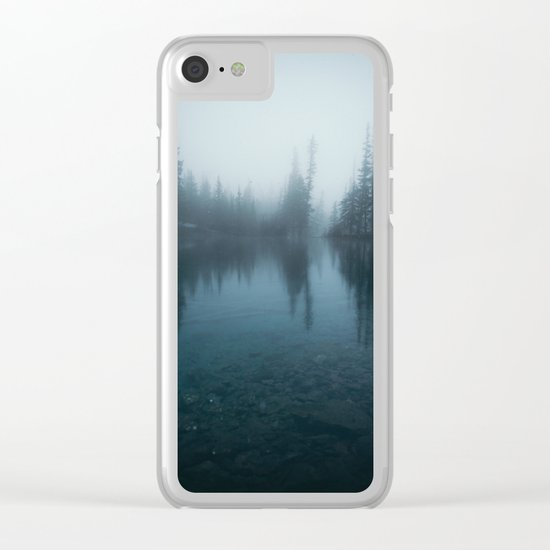 Grassi Lakes Clear iPhone Case