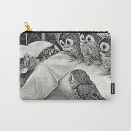 Louis Wain Cat Nightmare Owl Bird Carry-All Pouch