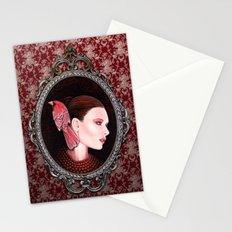 Dame Kardinal fig2 Stationery Cards