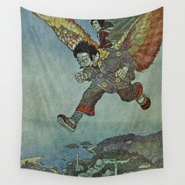 """""""East Wind"""" by Edmund Dulac Wall Tapestry"""