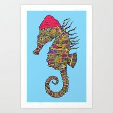 The Z Horse Art Print