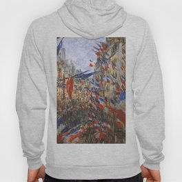 "Claude Monet ""The Rue Saint Denis, 30th of June 1878"" Hoody"