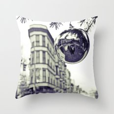 Downtown decoration Throw Pillow