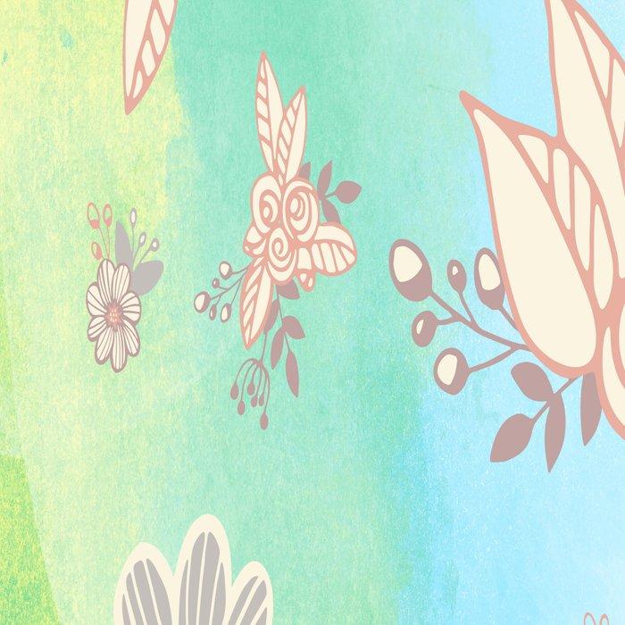 Soft flower pattern Leggings