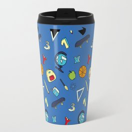 Colorful school pattern Travel Mug