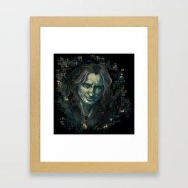The Dark One Framed Art Print
