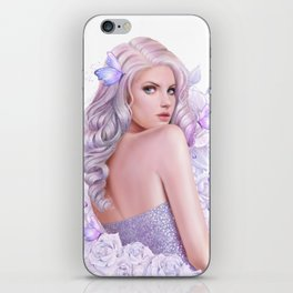 Lady Amethyst iPhone Skin