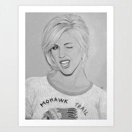 Brody Dalle Art Print