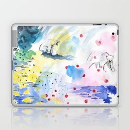 They lived lives no one had dreamt of Laptop & iPad Skin