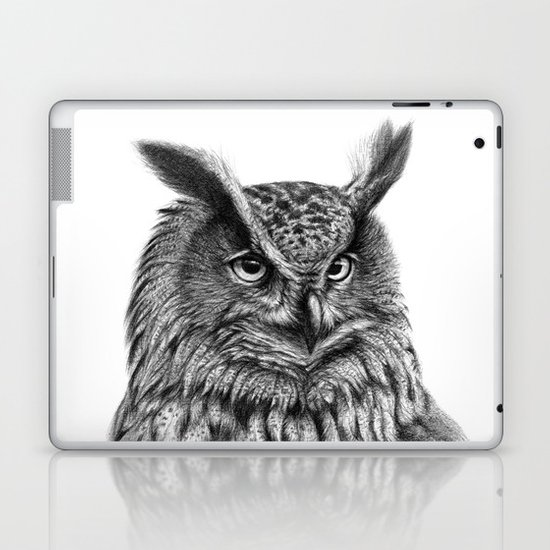 Eurasian Eagle Owl Laptop & iPad Skin