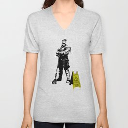 Every day heroes - Mop Champion Unisex V-Neck
