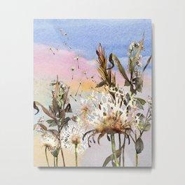 Dandelions 1 Metal Print