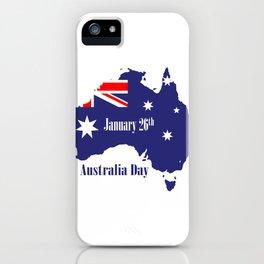 Happy Australia Day iPhone Case