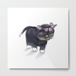 Little Cat Metal Print