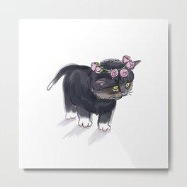 Little Cat Metal Print