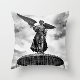 ANGEL OF THE WATERS Throw Pillow