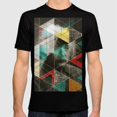 Albert E. Mens Fitted Tee Black SMALL