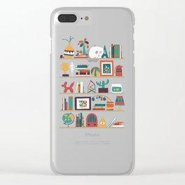 The shelf Clear iPhone Case