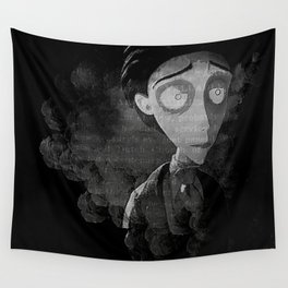 A Night at the Cemetery Wall Tapestry