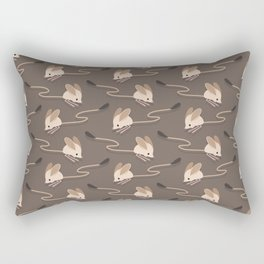 Long-eared jerboas Rectangular Pillow