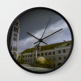 Pécs, Hungary Wall Clock