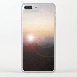 Sunset in the Smokies Clear iPhone Case