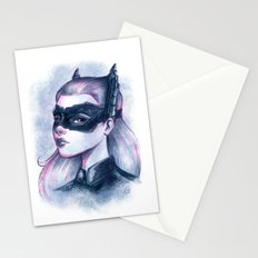 Catwoman Sketch  Stationery Cards
